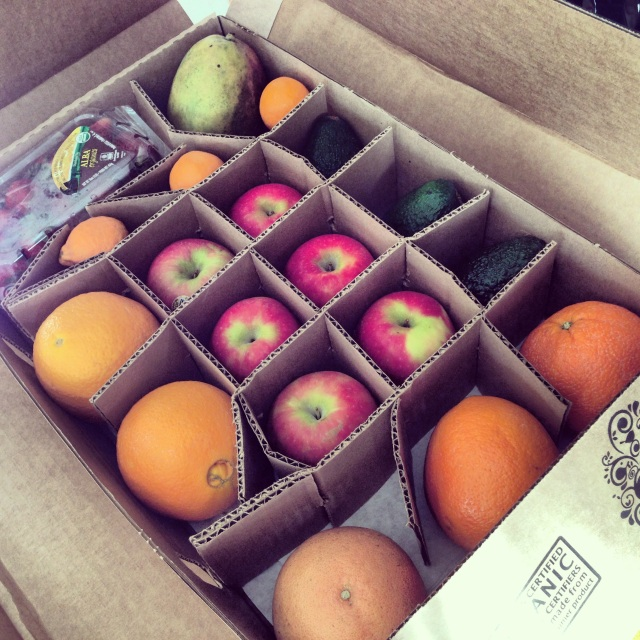 Our First Fruitshare Box