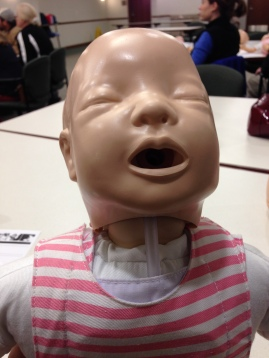 How creepy are these CPR babies?