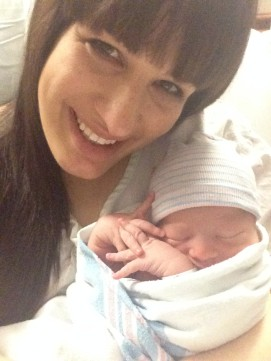 First selfie right after being born :)